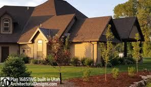 house plans utah house plan 16851wg client built in utah