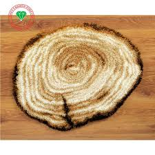 Latch Hook Rugs Aliexpress Com Buy Wooden Surface Carpet Embroidery 3d Latch