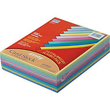 card stock assorted cardstock paper staples