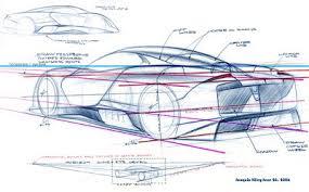 car sketch tutorial 3 4 rear view u2013 www lucianobove com