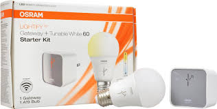 lightify starter kit tunable white smart connected led a19 bulb