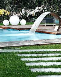 wholesale home interiors swimming pool waterfalls pictures swimming pool slide and water jets