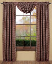 Cheap Primitive Curtains Lofty Inspiration Primitive Curtains For Living Room Fresh Design
