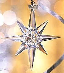 swarovski 1995 snowflake sco95 annual ornament sco 95