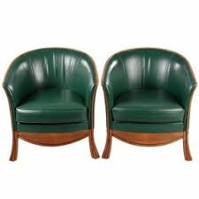 Leather Armchairs Vintage Leather Armchairs For Sale Foter