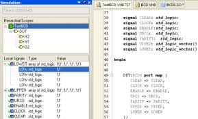 Test Benches In Vhdl Simulation Online Documentation For Altium Products