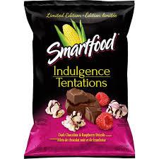 smartfood dark chocolate u0026 raspberry drizzle popcorn walmart canada