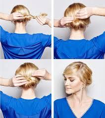 Frisuren Selber Machen Tipps by Haare Am Nacken Binden Und Zusammenrollen Frisuren