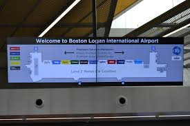 Boston Logan Airport Map Car Rental Boston Logan International Airport Bos
