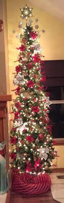 pencil christmas tree pencil christmas tree national tree non lit 7 1 2 fir hinged