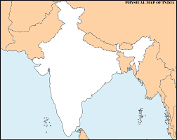Maharashtra Blank Map 14 important maps of india physical and political map best of