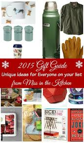 unique kitchen gift ideas 2015 gift guide unique gift ideas from miss in the kitchen