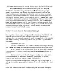 how to write a good white paper calameo martial arts essay how to write an essay on this subject