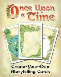 create your own storytelling cards once upon a time