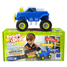 monster trucks trucks for children amazon com educational insights design u0026 drill power play