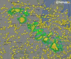 Chicago Area Traffic Map by Flightradar24 On Twitter