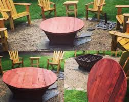 Firepit Covers Firepit Cover Etsy