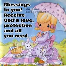 blessing cards blessings to you morning christian card christian cards