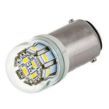 1142 led bulb w stock cover 12 smd led ba15d retrofit