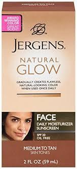 face tanning l reviews jergens natural glow medium tan reviews photos makeupalley