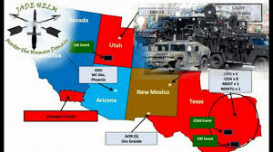 New World Order Map by New World Order Martial Law Scenario U S Government Pathological