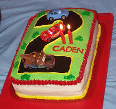 lightning mcqueen birthday cake lightning mcqueen 2nd birthday cake cakecentral