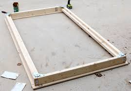 How To Make A Wooden Platform Bed by Diy Twin Platform Bed