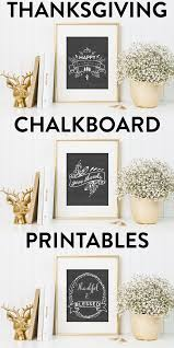 thanksgiving printables thanksgiving chalkboard printables a simple pantry