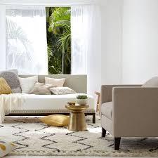 livingroom rug souk wool rug ivory west elm