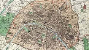 Map Of Paris France Paris France History And Cartograph 1872 Youtube