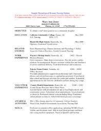 resume free sample resume for nursing school resume cover letter template resume for nursing school