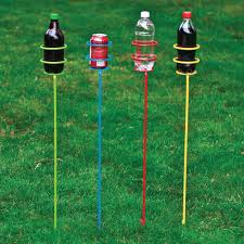 guidesman 33 standing outdoor drink holder assorted colors at