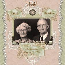 scrapbook for wedding great grandparents 50th wedding anniversary digital scrapbooking