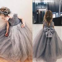 silver grey flower dresses price comparison buy cheapest