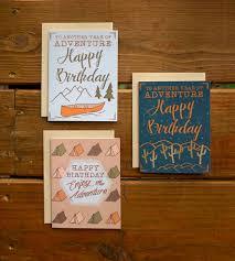 outdoor adventure birthday cards set of 3 gifts happy birthday
