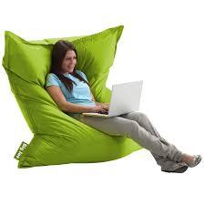 Dorm Room Bean Bag Chairs - comfort research big joe original smartmax bean bag chair in spicy