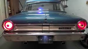 ford falcon tail lights led lights conversion ford fairlane 500 youtube