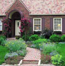 Cottage Garden Ideas Pinterest by Front Yard Cottage Garden John Cabot Climbing Roses Lori Mccabe