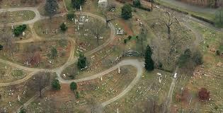 spooky sleepy hollow cemetery u2013 a halloween special aerial look