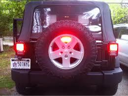 jeep wrangler third brake light jeep wrangler jk 2007 to present how to replace third brake light