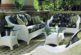 Painting Wicker Patio Furniture - treatment white wicker patio furniture furniture ideas and decors