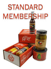 food of the month spicy food hot sauce of the month club just enough heat