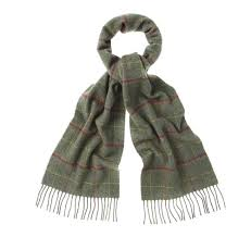 barbour newmarket plaid scarf sage scarves accessories best