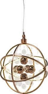 hã ngeleuchte design hängeleuchte universum copper led kare design kaufen