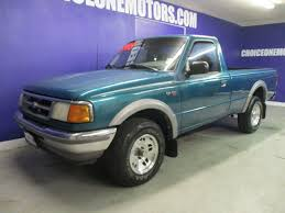 Ford Ranger Truck 4x4 - 1996 used ford ranger regular cab long bed 4x4 xlt automatic at