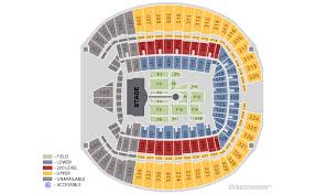 Ticketmaster Floor Plan Tickets Coldplay A Head Full Of Dreams Tour Seattle Wa At