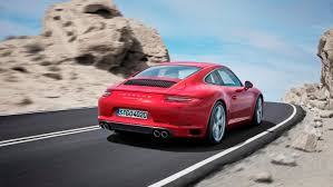 4 door porsche red the new porsche 911 carrera