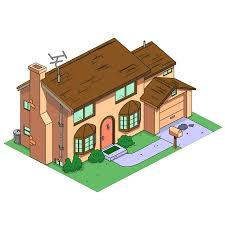 design of the week the simpsons house