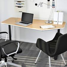 Minimalistic Desk Ikea Bekant 5 Sided Desk For Office Minimalist Desk Pinterest