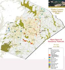 raleigh greenway map county consolidated open space plan